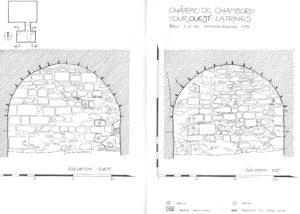 CHAMBORD-Caillou_Hofbauer-Tour-Ouest-Latrines-Petite-fosse-Est-Ouest